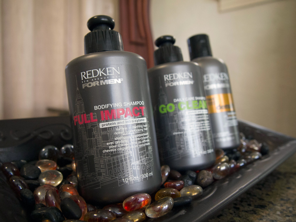 Image of Redkin hair products at Leslie Colleen Salon in Orlando, FL